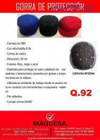 gorras de seguridad nuevas