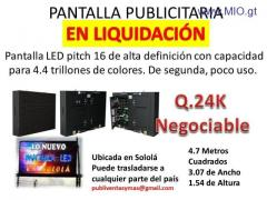 PANTALLA PUBLICITARIA LED!!!