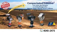RENTA EQUIPO DE COMPACTACIÓN