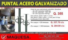 PUNTALES GALVANIZADOS  A UN SUPER PRECIO APROVECHA!!