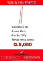 Escalera Extendible hasta 6.6 mts