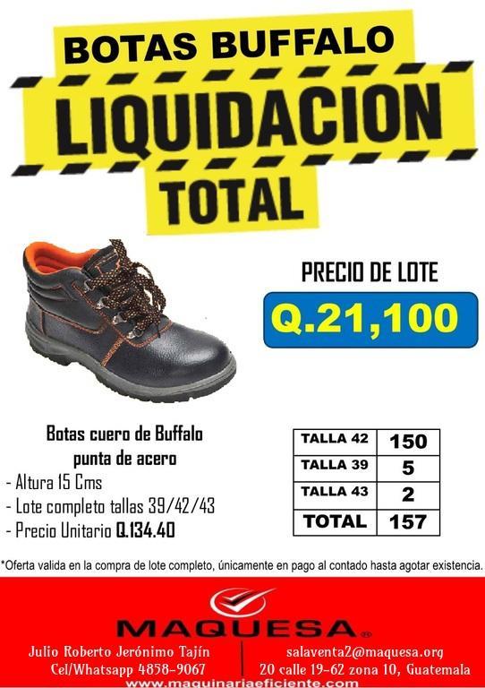 Liquidacion Botas Industriales