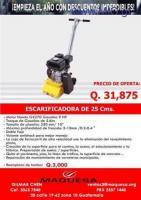 GRAN OFERTA DE MAQUINA ESCARIFICADORA