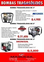 GRAN OFERTA DE BOMBAS TRAGASOLIDOS