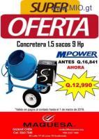 GRAN OFERTA DE CONCRETERA APROVECHA LLAMA YA