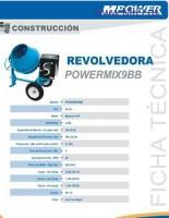 GRAN OFERTA DE CONCRETERA – REVOLVEDORA – MEZCLADORA