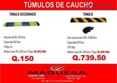 TENEMOS LOS MEJORES TUMULOS DE CAUCHO