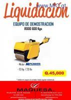 RODO DE COMPACTACION EN LIQUIDACION!!