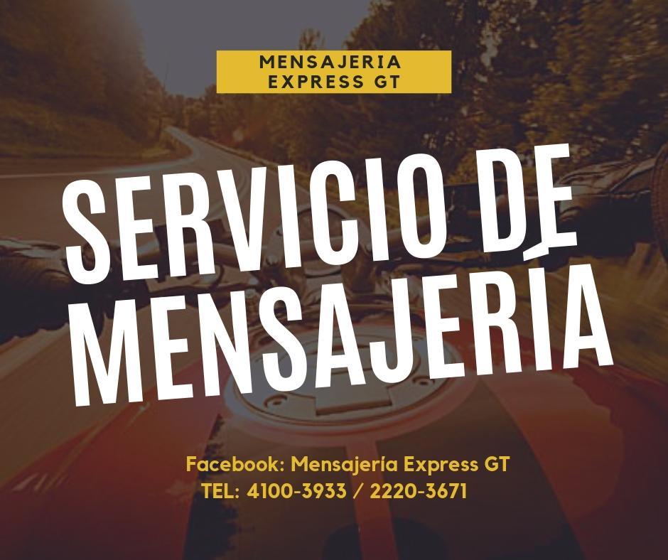 Viaje rápido y seguro, Mensajería Express GT
