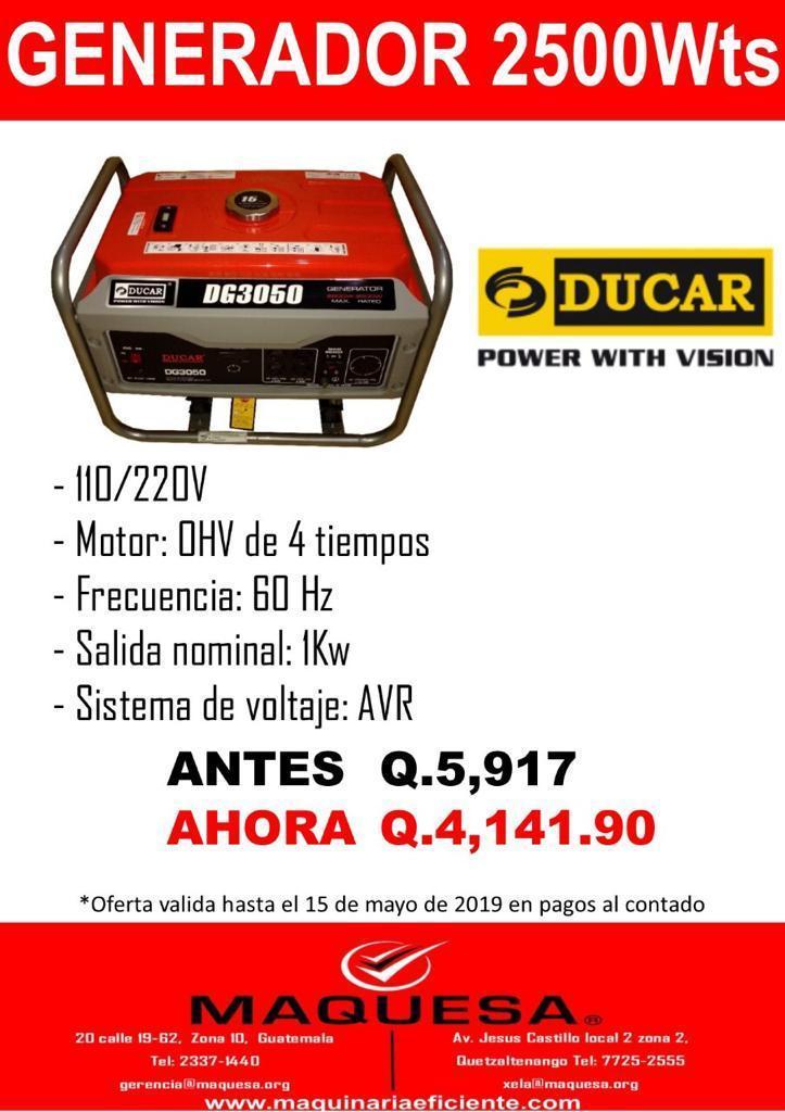 GENERADORES DE ENERGIA EN OFERTA!!