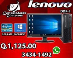 COMPUTADORA ECONOMICA MARCA LENOVO DDR3 EN OFERTA