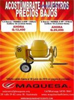 Promocion de Mezcladoras Honda