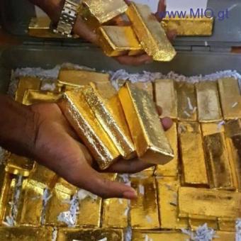 venta de Metales preciosos (Polvo de oro de 22 quilates y Barras)