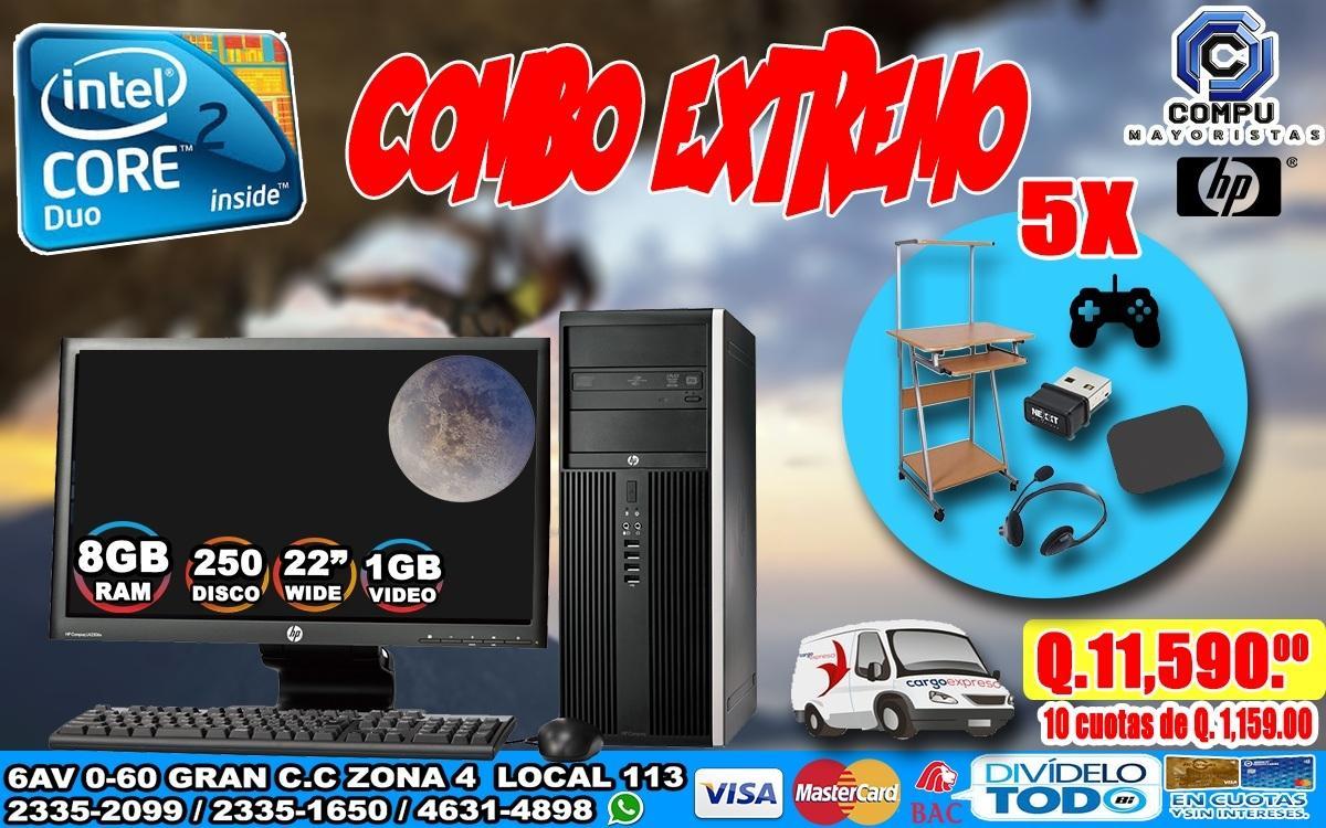 COMBOS EXTREMOS PARA PERSONAS EMPRENDEDORAS, A Tan Solo Q 11,590.00