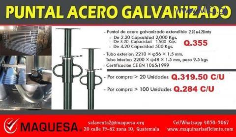 Puntales Galvanizados