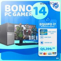 PC GAMER DE ALTO RENDIMIENTO CORE I7