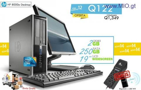 Computadora de escritorio Core 2 Duo
