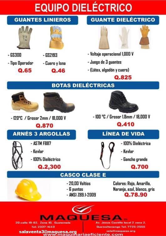 EQUIPO DE PROTECCIÓN DIELÉCTRICA