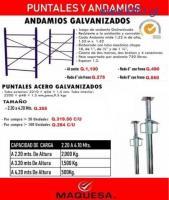 Andamios y Puntales,