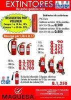 Extintores certificados