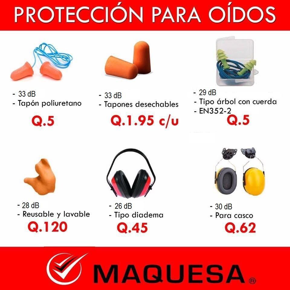 Protección para oídos