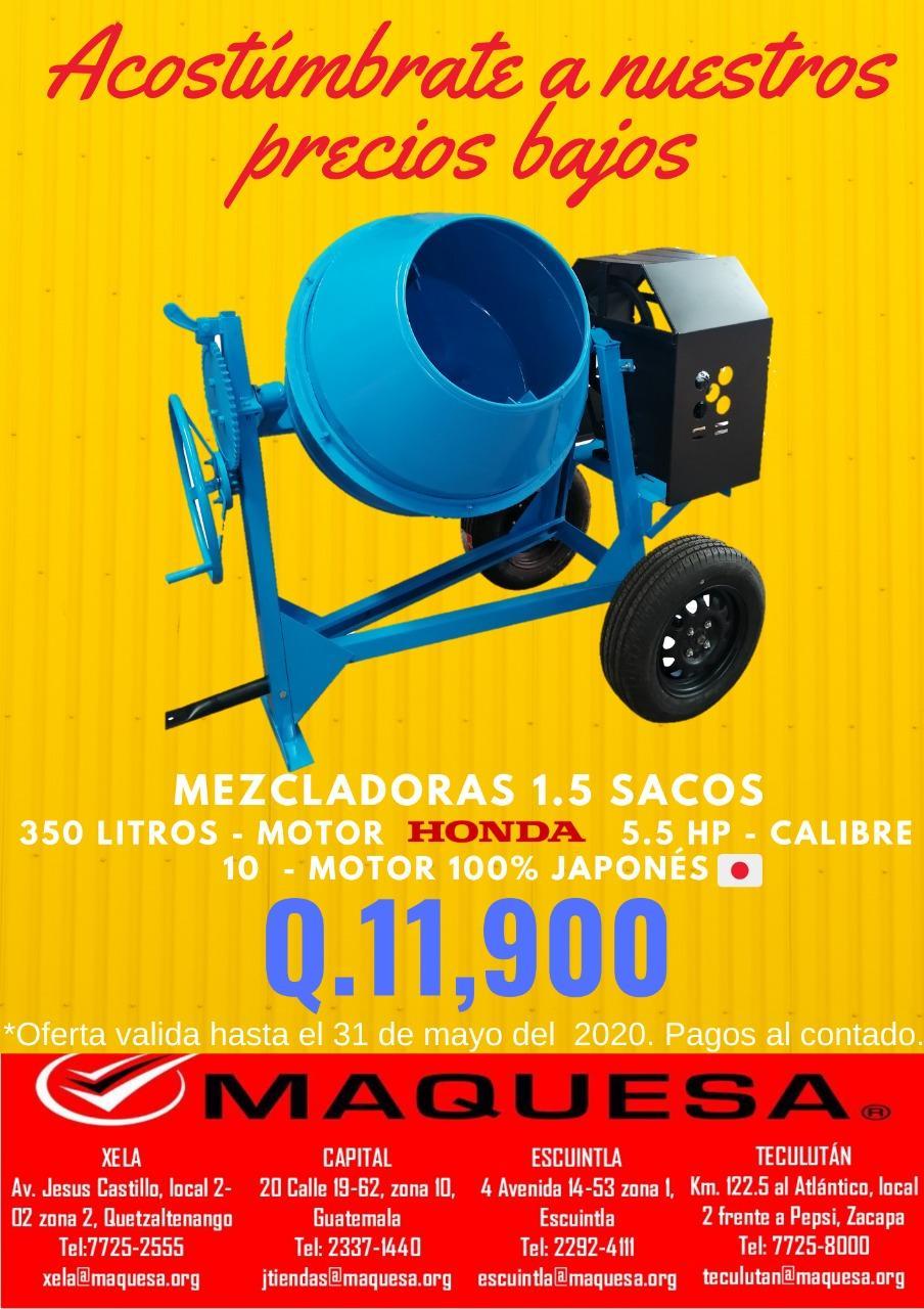 MESCLADORA  1.5 SACOS