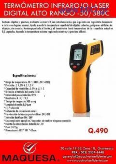 Termometro infrarrojo Laser