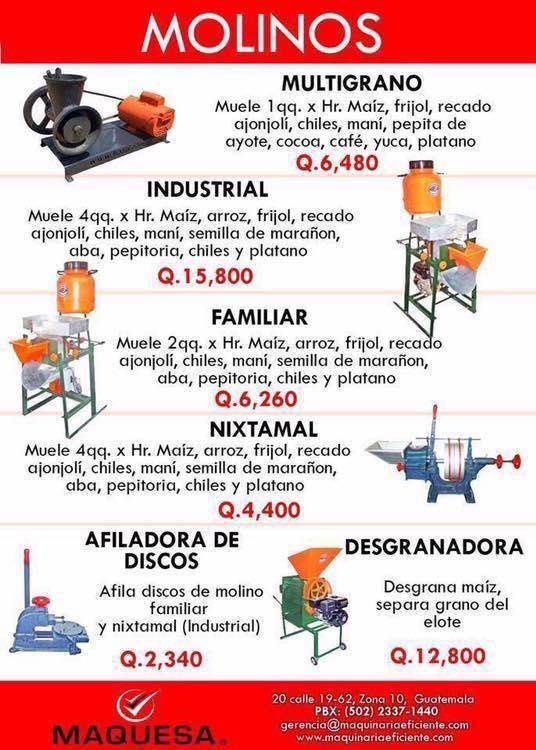 Molinos industriales