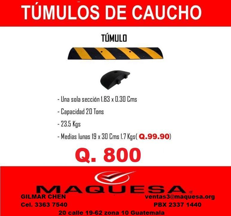 BUSCAS TUMULOS DE CAUCHO