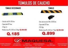 TUMULO DE CAUCHO